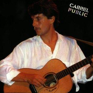 Paroles de chansons et pochette de l'album Cabrel public de Francis Cabrel