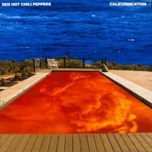 Paroles de chansons et pochette de l'album Californication de Red Hot Chili Peppers