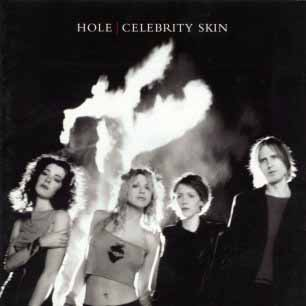 Paroles de chansons et pochette de l'album Celebrity skin de Hole