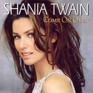Paroles de chansons et pochette de l'album Come on over (international version) de Shania Twain