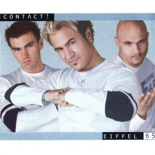 Paroles de chansons et pochette de l'album Contact! de Eiffel 65