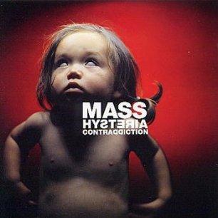 Paroles de chansons et pochette de l'album Contraddiction de Mass Hysteria