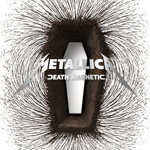 Paroles de chansons et pochette de l'album Death magnetic de Metallica