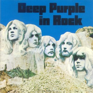 Paroles de chansons et pochette de l'album Deep purple in rock de Deep Purple