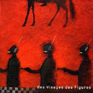 Paroles de chansons et pochette de l'album Des visages, des figures de Noir Désir