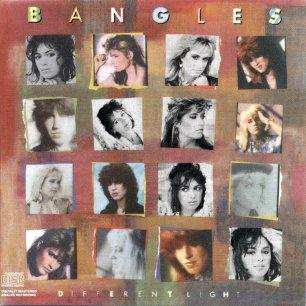 Paroles de chansons et pochette de l'album Different light de Bangles