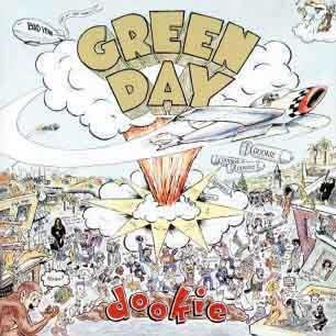 Paroles de chansons et pochette de l'album Dookie de Green Day