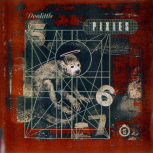 Paroles de chansons et pochette de l'album Doolittle de Pixies