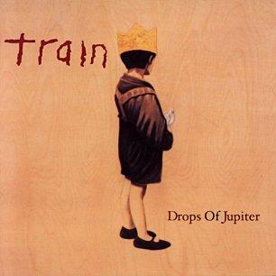 Paroles de chansons et pochette de l'album Drops of jupiter de Train