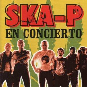 Paroles de chansons et pochette de l'album En concierto de Ska-P
