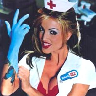 Paroles de chansons et pochette de l'album Enema of the state de Blink 182