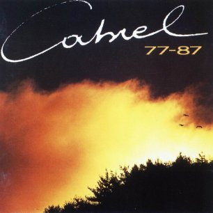 Paroles de chansons et pochette de l'album 77-87 de Francis Cabrel