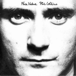 Paroles de chansons et pochette de l'album Face value de Phil Collins