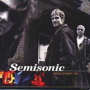 Paroles de chansons et pochette de l'album Feeling strangely fine de Semisonic