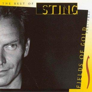 Paroles de chansons et pochette de l'album Fields of gold de Sting (& The Police)