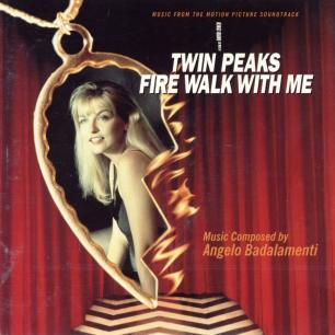 Paroles de chansons et pochette de l'album Fire walk with me de Twin Peaks (B.O.)