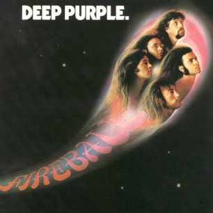 Paroles de chansons et pochette de l'album Fireball de Deep Purple