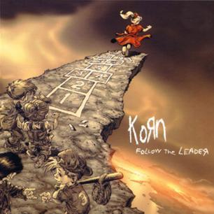 Paroles de chansons et pochette de l'album Follow the leader de Korn