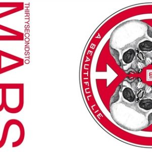 Paroles de chansons et pochette de l'album A beautiful lie de 30 Seconds To Mars