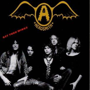 Paroles de chansons et pochette de l'album Get your wings de Aerosmith