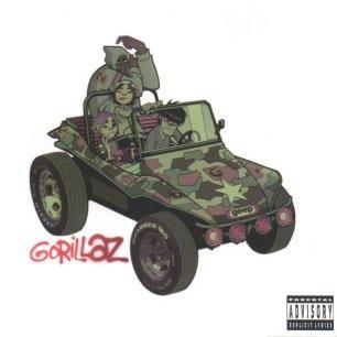 Paroles de chansons et pochette de l'album Gorillaz de Gorillaz