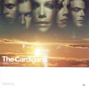 Paroles de chansons et pochette de l'album Gran turismo de Cardigans