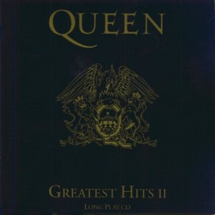 Paroles de chansons et pochette de l'album Greatest hits II de Queen