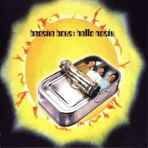 Paroles de chansons et pochette de l'album Hello nasty de Beastie Boys