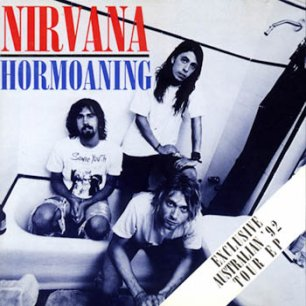 Paroles de chansons et pochette de l'album Hormoaning de Nirvana