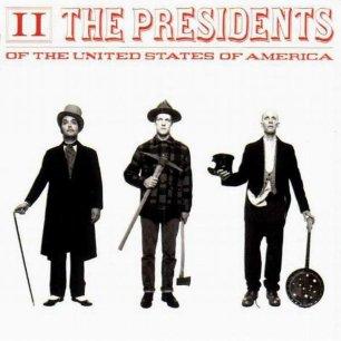 Paroles de chansons et pochette de l'album II de Presidents Of The USA