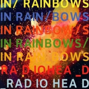 Paroles de chansons et pochette de l'album In rainbows de Radiohead