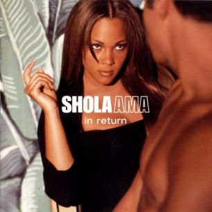 Paroles de chansons et pochette de l'album In return de Shola Ama