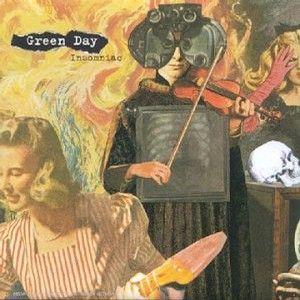 Paroles de chansons et pochette de l'album Insomniac de Green Day