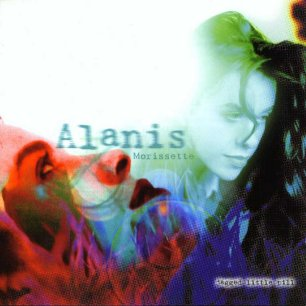Paroles de chansons et pochette de l'album Jagged little pill de Alanis Morissette