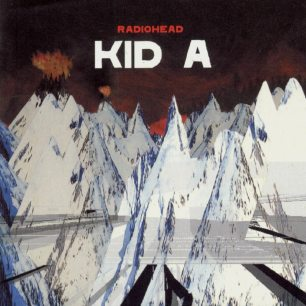 Paroles de chansons et pochette de l'album Kid A de Radiohead
