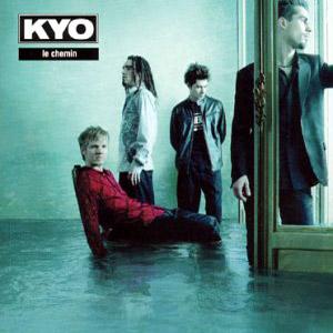 Paroles de chansons et pochette de l'album Le chemin de Kyo