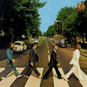 Paroles de chansons et pochette de l'album Abbey road de Beatles