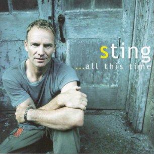 Paroles de chansons et pochette de l'album ...all this time de Sting (& The Police)