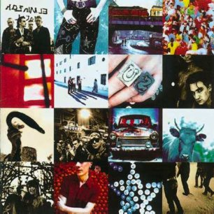 Paroles de chansons et pochette de l'album Achtung baby de U2