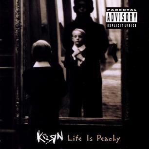 Paroles de chansons et pochette de l'album Life is peachy de Korn