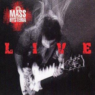 Paroles de chansons et pochette de l'album Live de Mass Hysteria