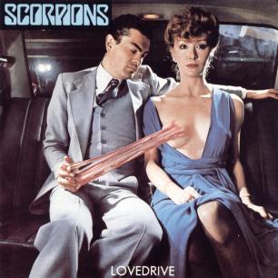 Paroles de chansons et pochette de l'album Lovedrive de Scorpions