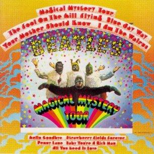 Paroles de chansons et pochette de l'album Magical mystery tour de Beatles