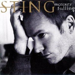 Paroles de chansons et pochette de l'album Mercury falling de Sting (& The Police)