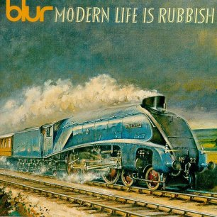 Paroles de chansons et pochette de l'album Modern life is rubbish de Blur