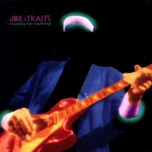 Paroles de chansons et pochette de l'album Money for nothing de Dire Straits