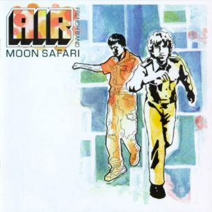 Paroles de chansons et pochette de l'album Moon safari de Air