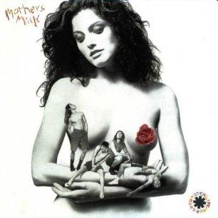 Paroles de chansons et pochette de l'album Mother's milk de Red Hot Chili Peppers
