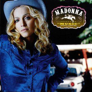 Paroles de chansons et pochette de l'album Music de Madonna