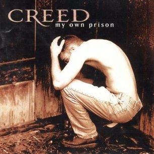 Paroles de chansons et pochette de l'album My own prison de Creed